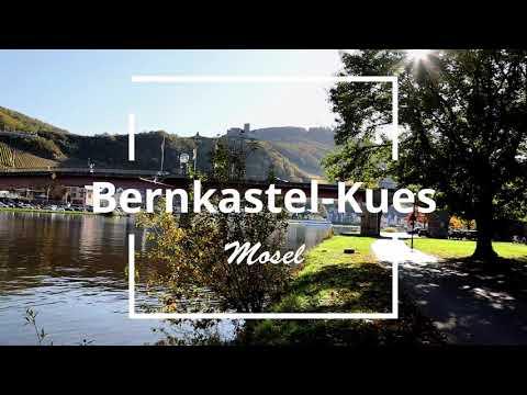 Bernkastel-Kues an der Mosel Flusskilometer 130