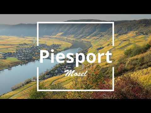 Piesport an der Mosel Flusskilometer 148
