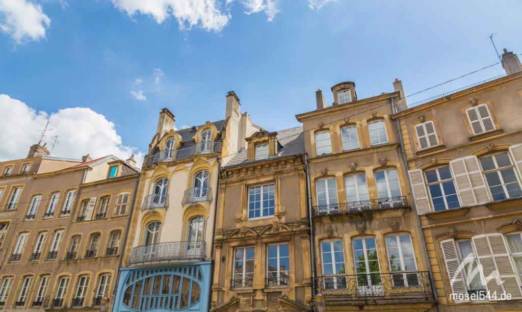 Fassaden von Metz