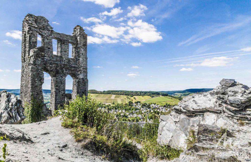 Ruine der Grevenburg.