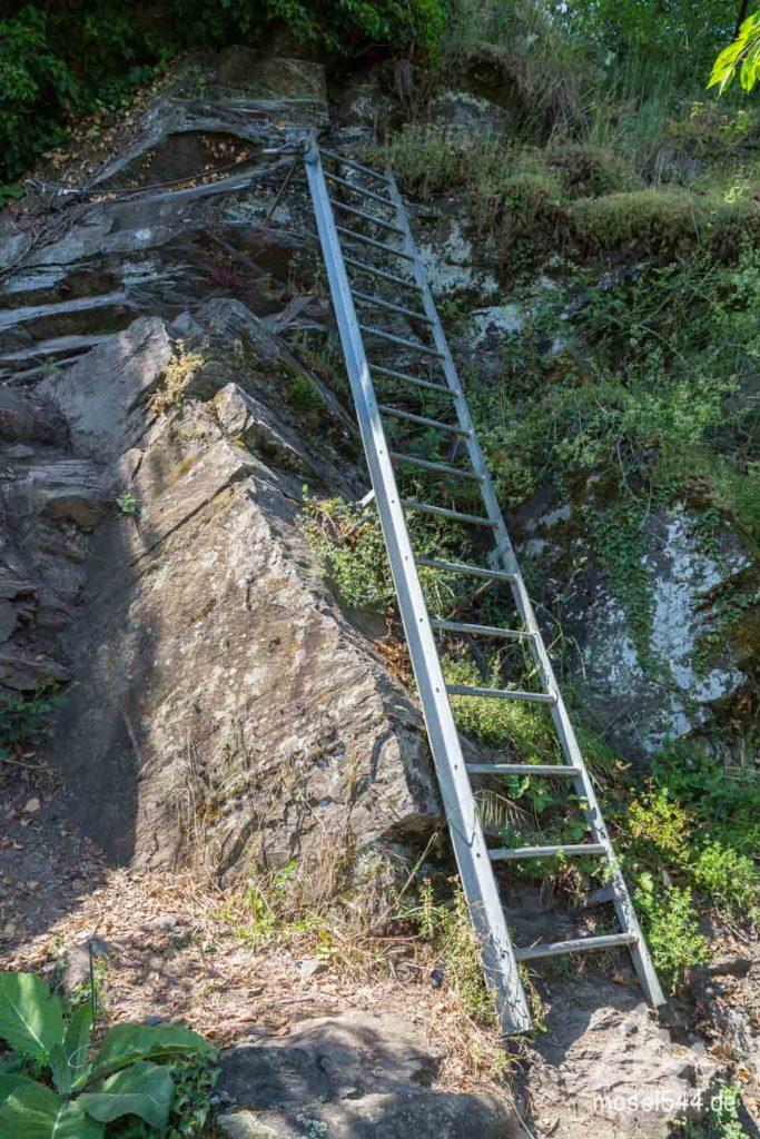 Klettersteig Leitern Etappe 21