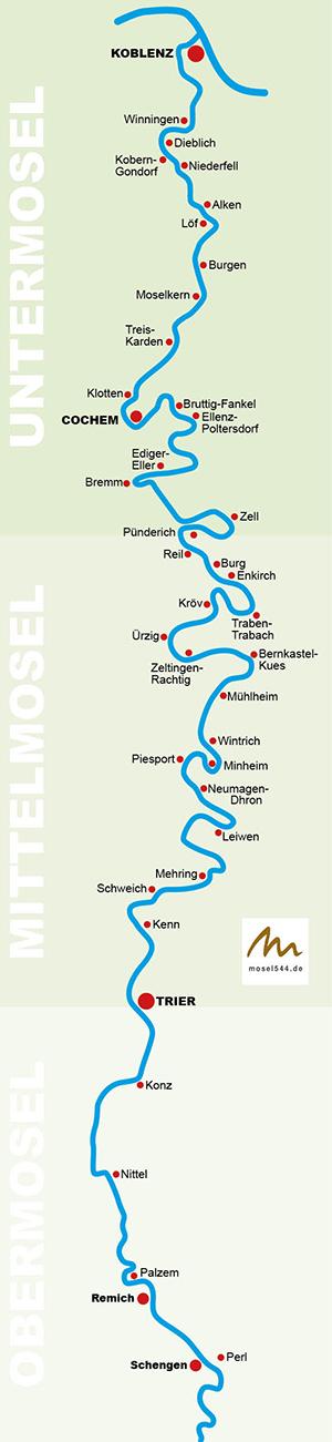 Mosel Karte Mit Allen Orten.Calmont Klettersteig Alles über Die Mosel