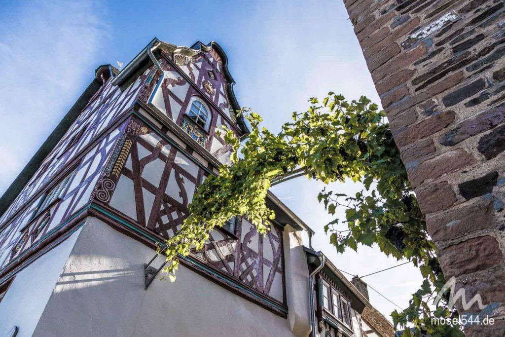 Fachwerkfassade in Bremm