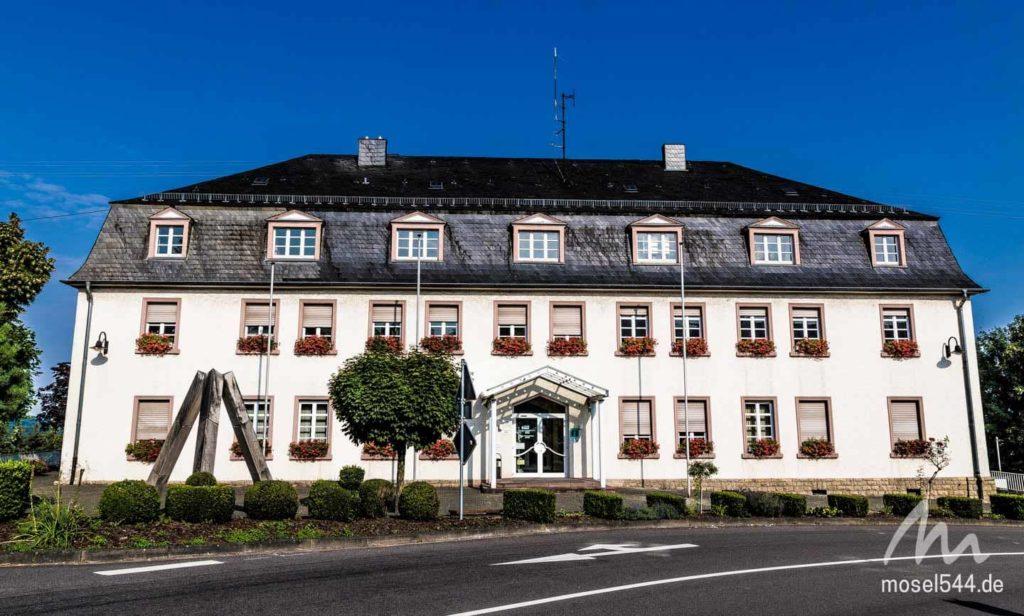 Das Rathaus von Perl