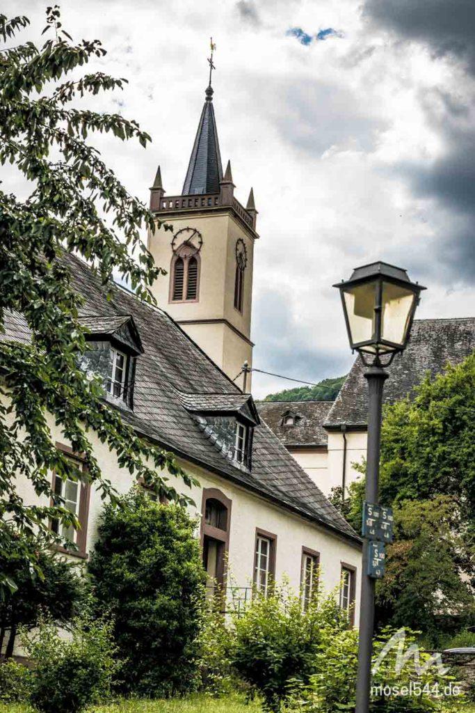 In der Kirche werden Fledermäuse aufgezogen.