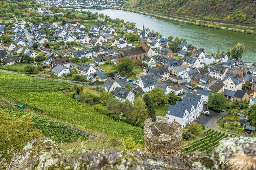 Aussicht aus dem Burgberg